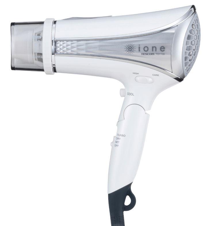 ione マイナスイオンヘアードライヤー TID1100