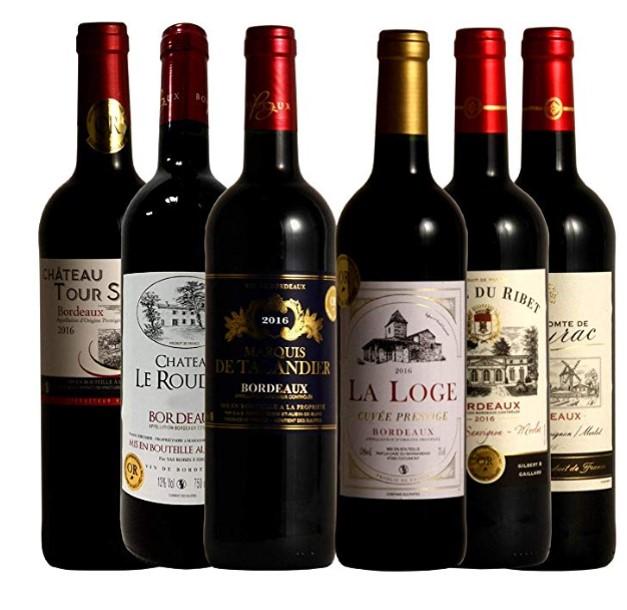 贅沢飲み比べ 厳選セレクト 赤ワイン