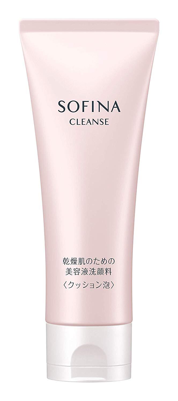 乾燥肌のための美容液洗顔料 クッション泡