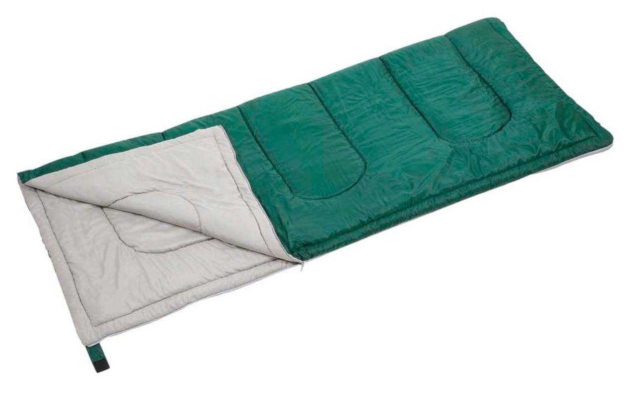 プレーリー 封筒型シュラフ(寝袋)600(グリーン)