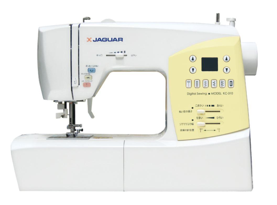 文字縫い コンピューターミシン ホワイト KC-310