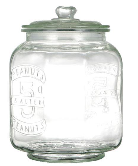 ガラスジャー ガラス クッキージャー 7L