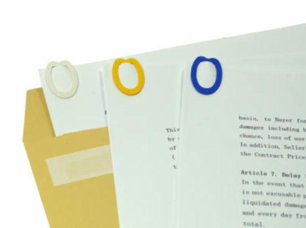 紙クリップ SD-15 6色ミックス 30個入り