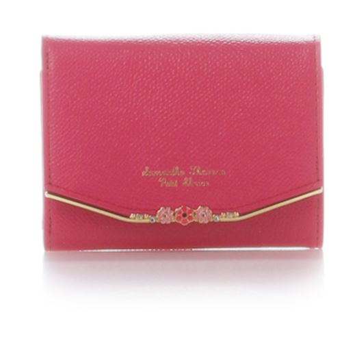 フラワーバー金具シリーズ 折り財布