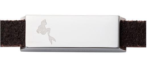 『リトル・マーメイド』『アリエル』ペアブレスレット ディズニー Disney ホワイト&ホワイト