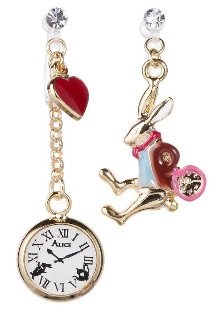 フリンジ アリス ウサギと時計