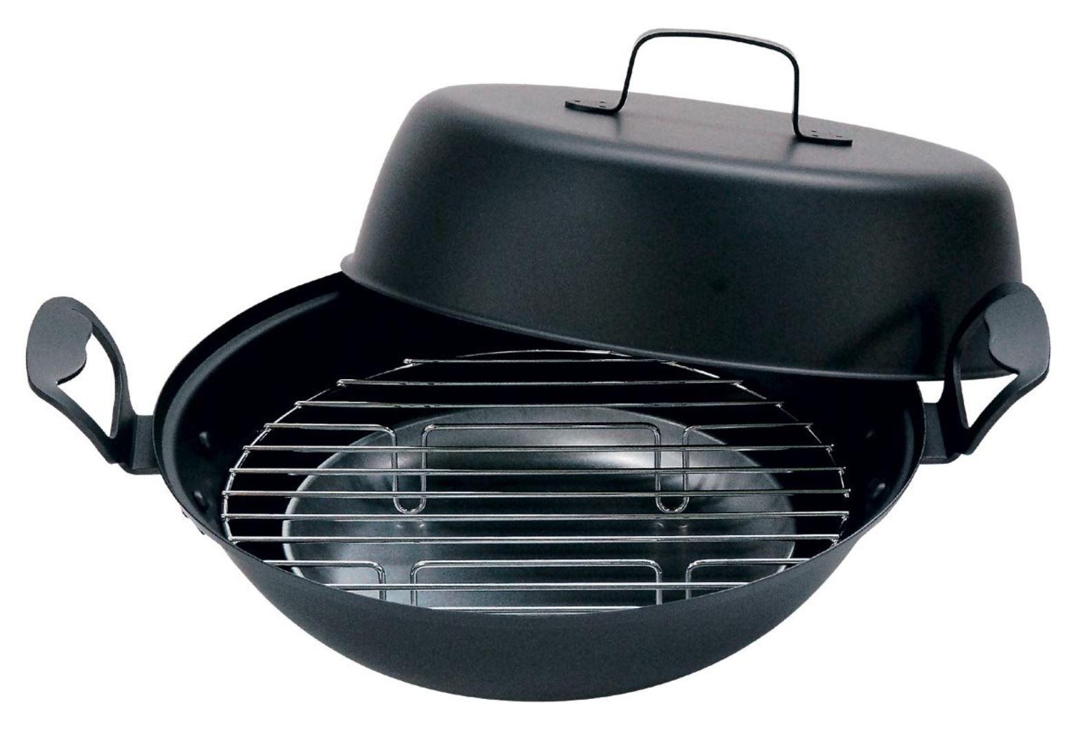 H-027 鉄製燻製鍋 27cm