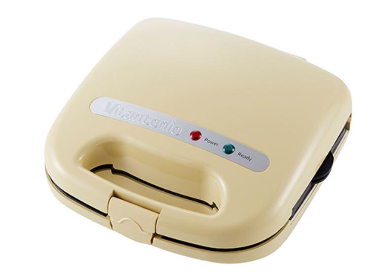 ワッフル & ホットサンドベーカー スペシャルセット クリーム VWH-11-C
