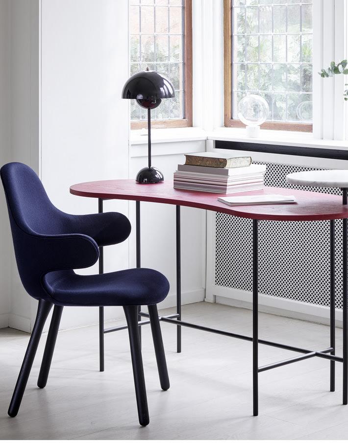 FLOWERPOT TABLE LAMP ブラックブルー