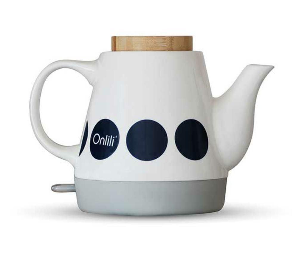 ONL-K01 Onlili(オンリリ) 陶器電気ケトル