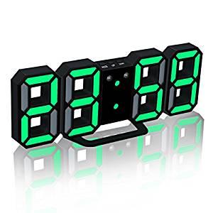 電子LEDデジタル目覚まし時計