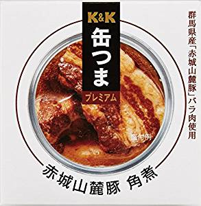 缶つまプレミアム 群馬県産 赤城山麓豚角煮 150g