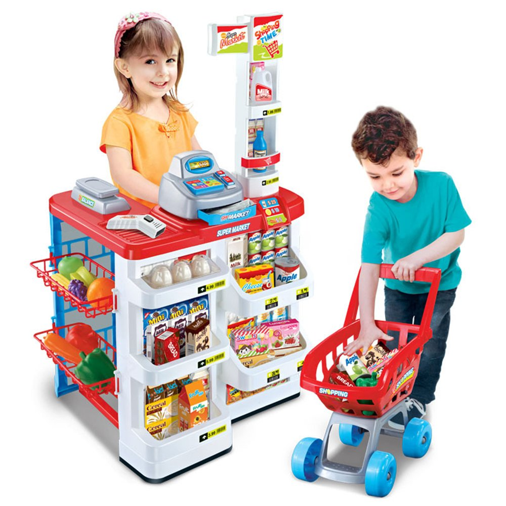 シミュレーションままごと スーパーマーケットのレジのおもちゃ