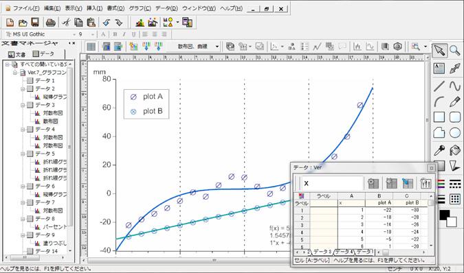 6.DeltaGraph(デルタグラフ)
