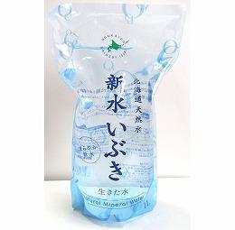 北海道天然水 新水いぶき <無発泡>