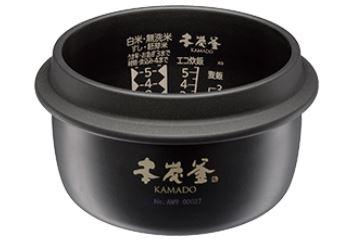 本炭釜 KAMADO NJ-AW109