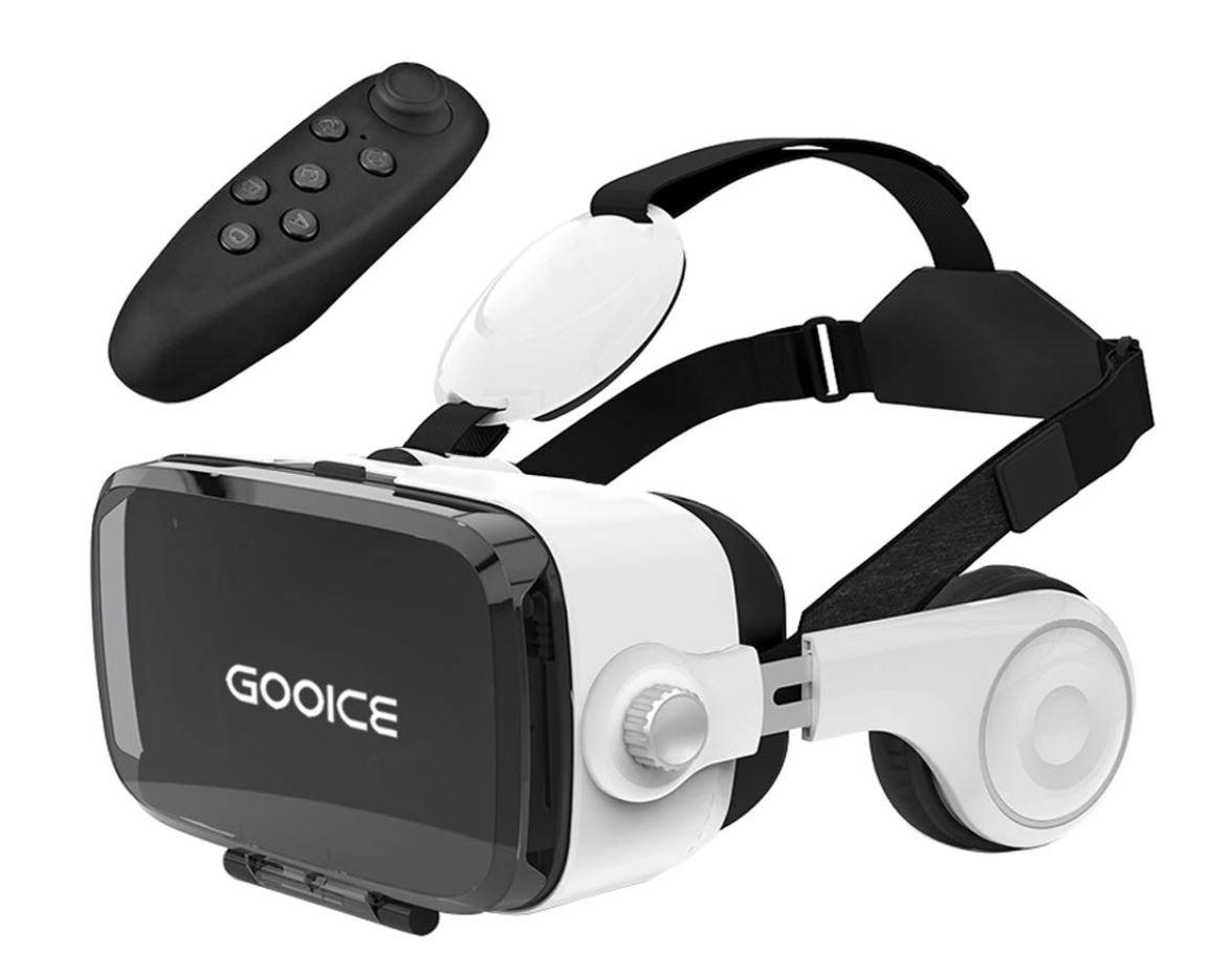 「2019最新」3D VRゴーグル Bluetoothリモコン付属