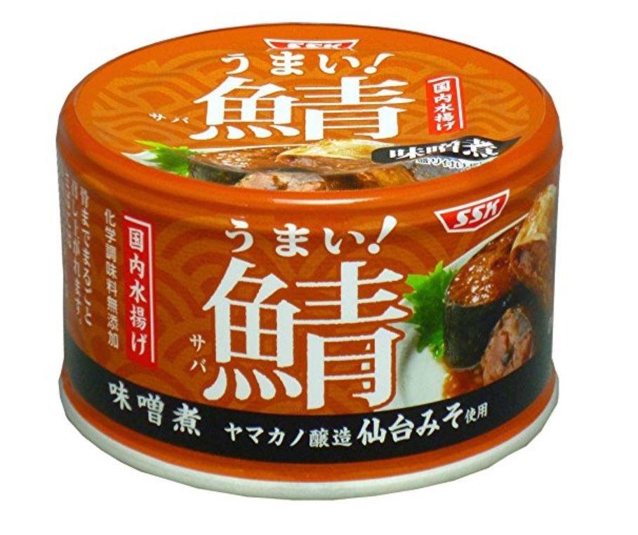 うまい!鯖味噌煮缶詰 150g×6個