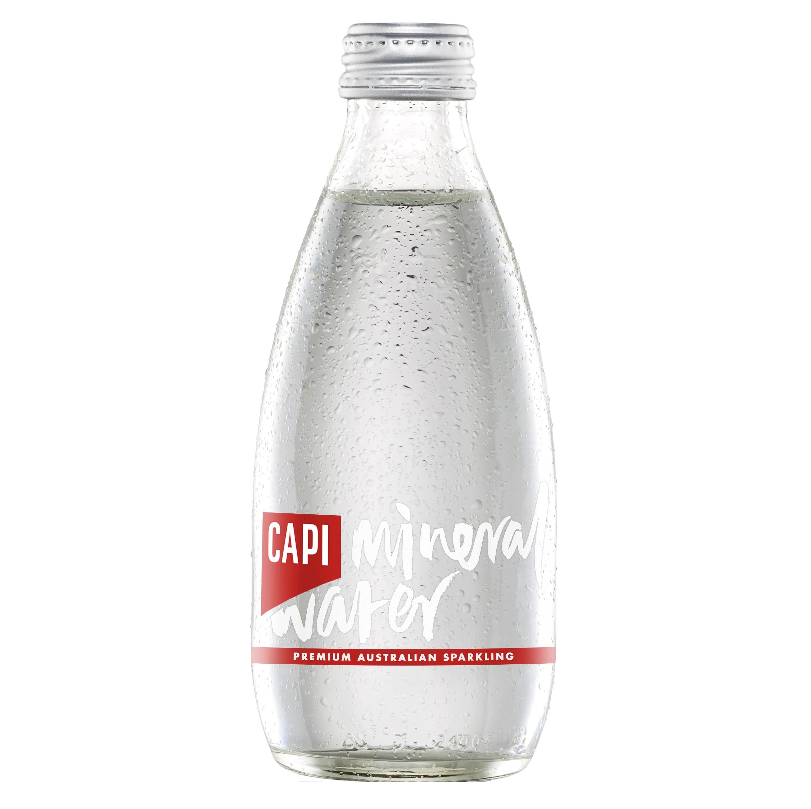 CAPI(カピ) スパークリングミネラルウォーター ビン <発泡>