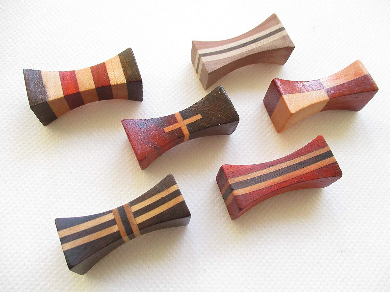 箸置き 6個セット 木製 ウッドデザイン