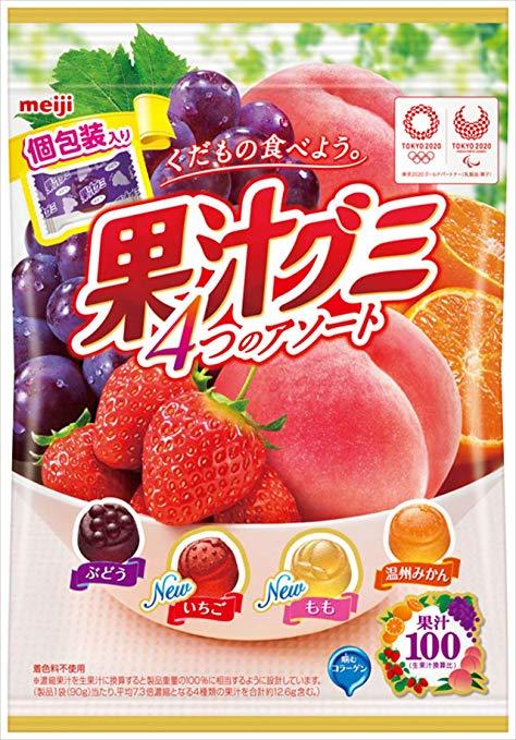 果汁グミアソート個包装 90g×6袋