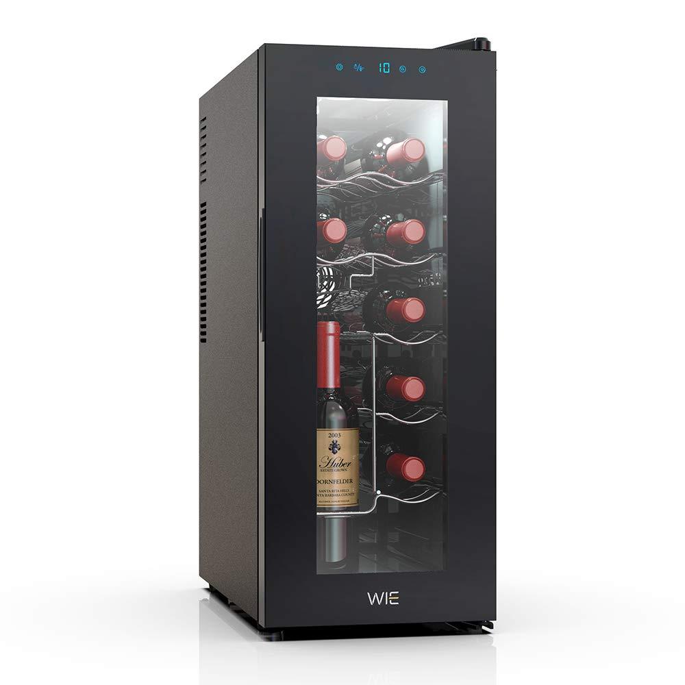 ワインセラー 12本収納 縦置き 静音式 35L UVカット