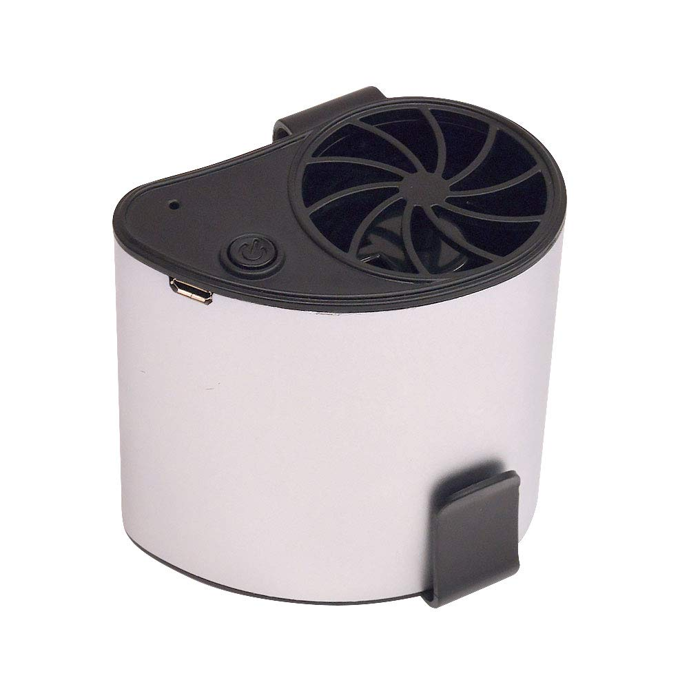 持たないUSB充電式扇風機 腰ベルトファン