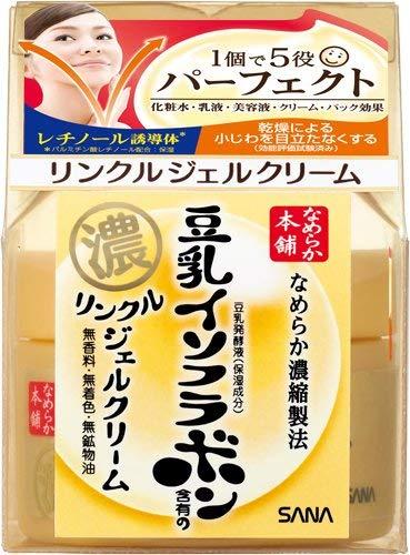 豆乳イソフラボンリンクルジェルクリーム