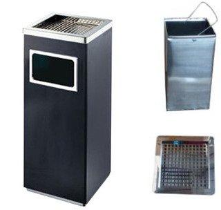 ゴミ箱付き灰皿A-083B