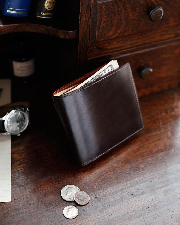 ブライドル二つ折り財布