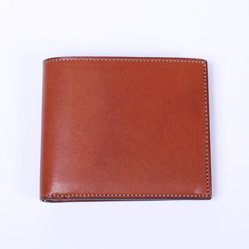 双鞣和地二つ折り財布