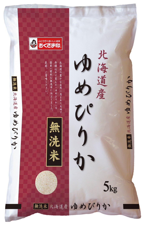北海道産 無洗米 ゆめぴりか