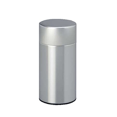 茶筒 白缶