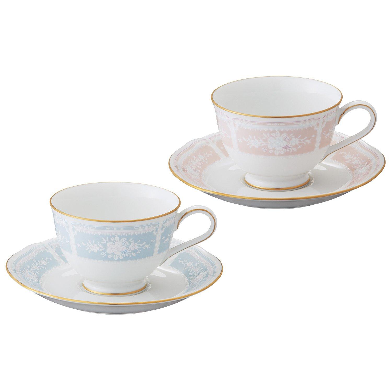 ティー・コーヒー碗皿ペアセット