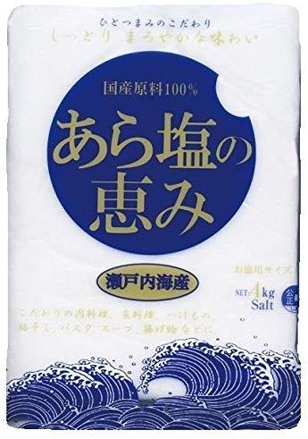 国産原料100% あら塩の恵み