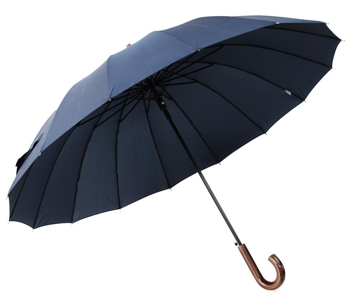 16ロングカーボン メンズ長傘