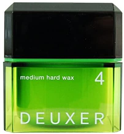DEUXER(デューサー) ミディアムハードワックス 4 80g